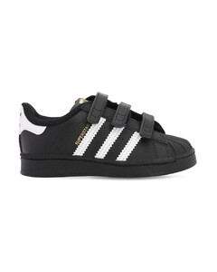 Superstar Leather Strap Sneakers