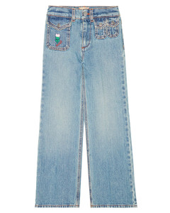 Giordias jacket in blue and white