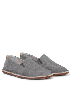 backpack in synthetic leather with logo