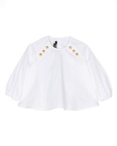 Panda-patch padded coat