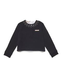 Logo-print cotton bucket hat
