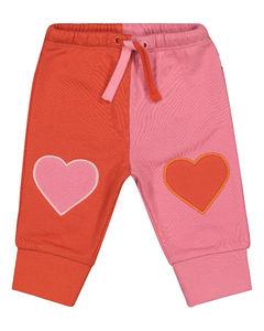 Baby贴花棉质运动裤
