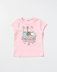 Baby Icon Stripe cotton polo top