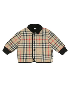 Baby checked quilted jacket