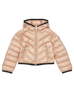 Cexing Hooded Nylon Down Jacket