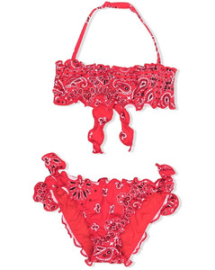 Recycled Poly Puffer Coat W/ Logo Band