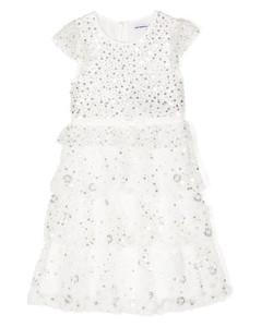 diamond logo-knit beanie hat
