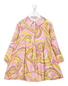 Logo Print Hooded Nylon Down Jacket