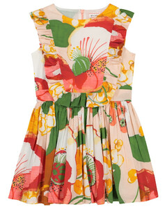 Flamenco Samson花卉连衣裙