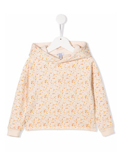 Quilted-down cotton and nylon-blend puffer coat 7-16 years