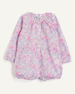 Cotton Interlock Romper & Hat