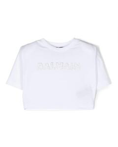 Logo Print Nylon Puffer Backpack