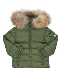 New Byron Nylon Down Jacket W/ Fur