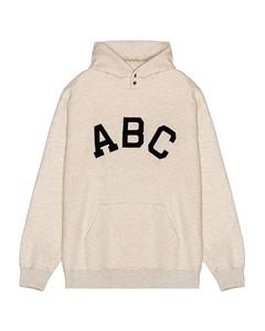 ABC连帽衫