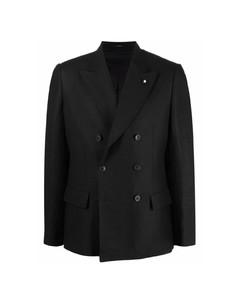 Color Block Nylon Down Jacket