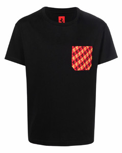 Colour-blocked shell sweatpants