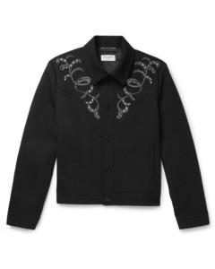 Oversize Arrow Cotton Denim Shirt