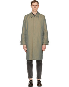 绿色Thomas麦金托什大衣