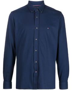 Nylon Zip-Up Jacket in Orange