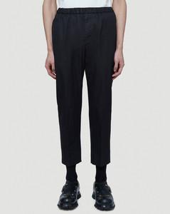 Cropped Pants in Black