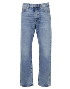 VLogo Signature Tapered Jeans