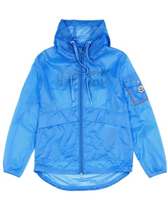 Zip-Up Hooded Overcoat
