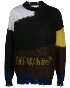 Printed Crewneck Sweater