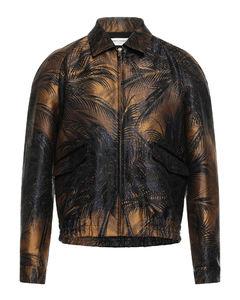 Tiger printed jeans
