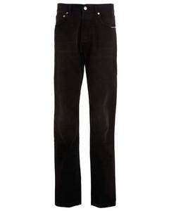 4 Bar cotton track pants