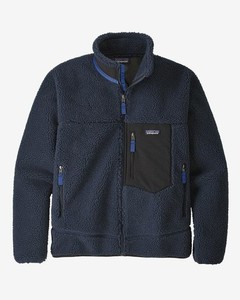 Classic Retro-X Fleece Jacket - New Navy Colour: New Navy, S