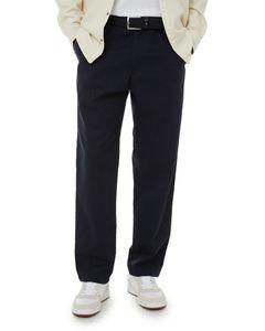 Cotton Blend Sweatpants W/ Striped Cuffs