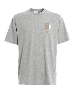 Hesford TB monogram embroidery T-shirt