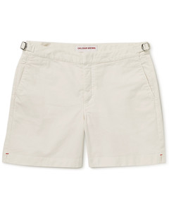 海军蓝&黑色刺绣徽标三角泳裤