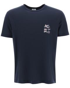 London district print cotton shirt