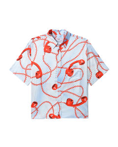 The Art of Racing silk shirt