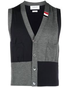 Back Circle Logo Zip-up Hoodie Blue Green