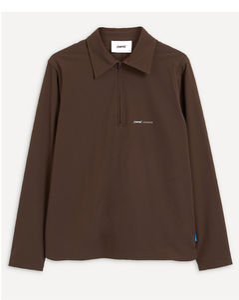 Flamed cotton T-shirt