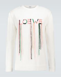 Intarsia stitch sweater