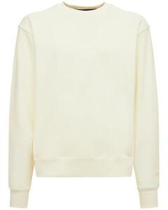 D25 Patch Cotton Denim Jacket W/ Hood