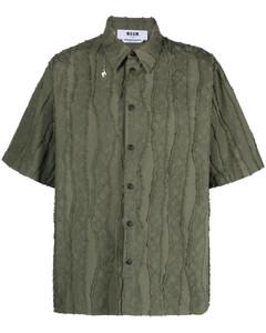 Navy cotton-twill overshirt