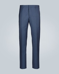 Tailored wool formal pants