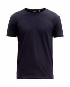 Contrast-stitch cotton T-shirt