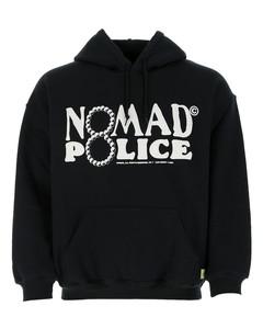 Black cotton and polyester sweatshirt Nd Nomad Uomo