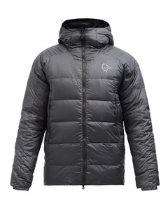 Trollveggen down850 hooded jacket