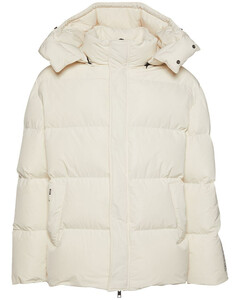 Down Jacket W/ Detachable Hood