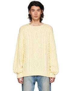 Two-tone oversize Maltih sweatshirt