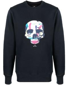 Leopard-print silk crepe de chine shirt