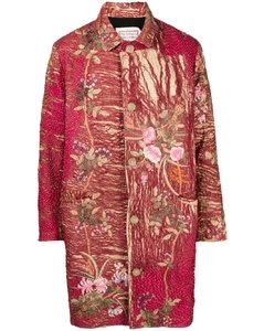 All Over Print Motif Short Sleeve Shirt