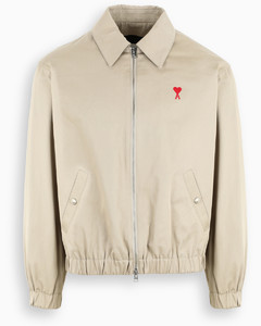 Beige Ami de Coeur zipped jacket