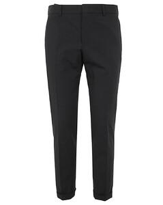 Asymmetric Wool & Cashmere Bicolor Coat